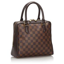Louis Vuitton-Louis Vuitton Brown Damier Ebene Brera-Brown