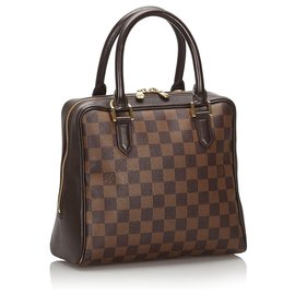 Louis Vuitton-Louis Vuitton Brown Damier Ebene Brera-Marron