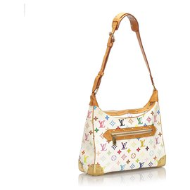 Louis Vuitton-Louis Vuitton Monogramme Blanc Multicolore Boulogne-Blanc,Multicolore