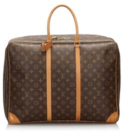 Louis Vuitton-Louis Vuitton Brown Monogram Sirius 50-Brown