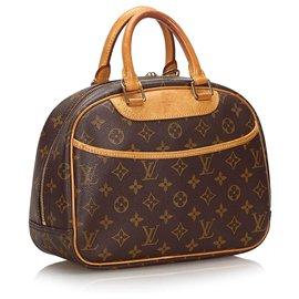 Louis Vuitton-Louis Vuitton Brown Monogram Trouville-Brown