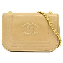 Chanel-Sac à main Chanel-Beige