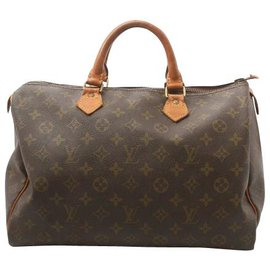 Louis Vuitton-Louis Vuitton Speedy 35-Marron