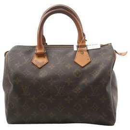 Louis Vuitton-Louis Vuitton Speedy 25-Marron
