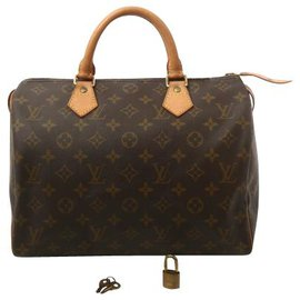 Louis Vuitton-Louis Vuitton Speedy 30-Marron