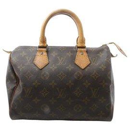 Louis Vuitton-Louis Vuitton Speedy 25-Brown