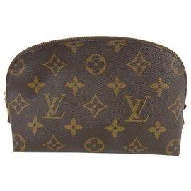 Louis Vuitton-Louis Vuitton Pochette Cosmetique-Brown