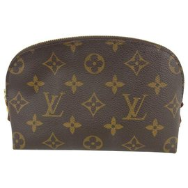 Louis Vuitton-Louis Vuitton Pochette Cosmetique-Marron