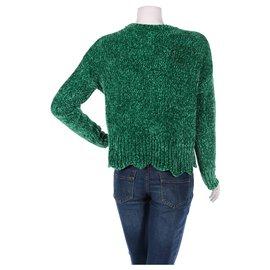 Cynthia Rowley-Knitwear-Green