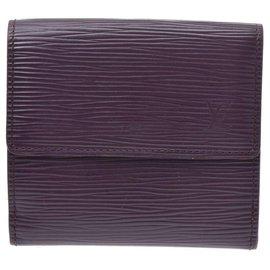 Louis Vuitton-Louis Vuitton wallet-Purple