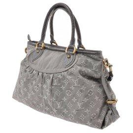 Louis Vuitton-Sac à main Louis Vuitton-Gris