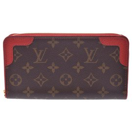 Louis Vuitton-Porte monnaie louis Vuitton-Rouge