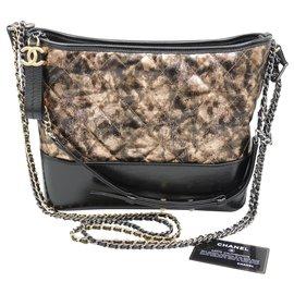 Chanel-CHANEL bag GABRIELLE Large Model-Black,Copper