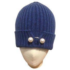 Chanel-Hats-Blue