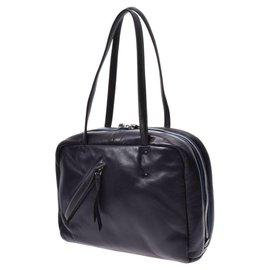Prada-Prada Vintage Shoulder Bag-Black