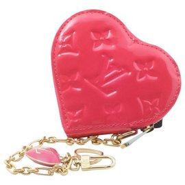 Louis Vuitton-Louis Vuitton Coin Case-Pink