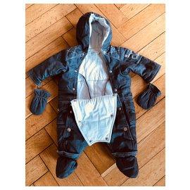 Baby Dior-Combinaison pilote Baby Dior-Bleu,Bleu clair