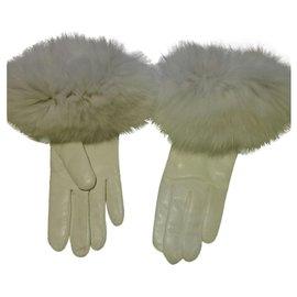 Autre Marque-Alexandra Bartlett gloves-Eggshell