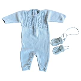 Baby Dior-Baby Dior Overall-Hellblau