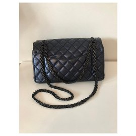 Chanel-Chanel 2.55-Blue,Metallic