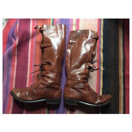 Burberry-Burberry boots-Brown