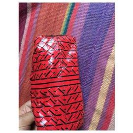 Bottega Veneta-Makeup bag bottega veneta-Red