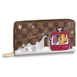 Louis Vuitton-louis vuitton zippy new-Brown