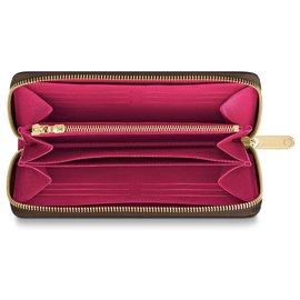 Louis Vuitton-louis vuitton zippy novo-Marrom