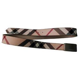 Burberry-Belts-Beige