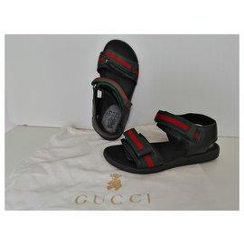 Gucci-Kids Sandals-Black