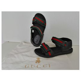 Gucci-Sandales Enfants-Noir