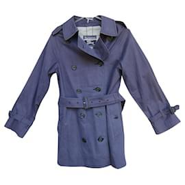 Burberry-vintage Burberry women's trench coat 36-Purple