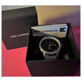 Autre Marque-Ted Lapidus Man Watch-Silvery