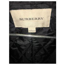 Burberry-Caban Burberry-Bleu Marine