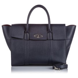 Mulberry-Mulberry Black Small New Bayswater Satchel-Black