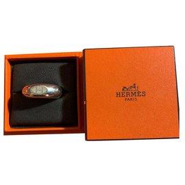 Hermès-Bagues-Argenté