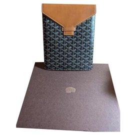 Goyard-Wallets Small accessories-Black,Hazelnut