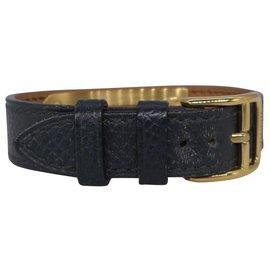 Hermès-Kelly Watch-Navy blue