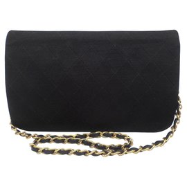 Chanel-Chanel classic flap bag-Black