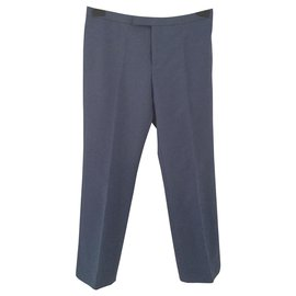 Céline-Pants, leggings-Blue