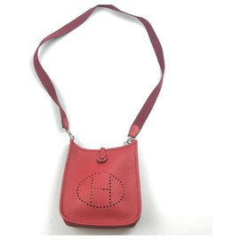 Hermès-Handbags-Red