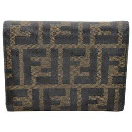 Fendi-Fendi Wallet-Khaki