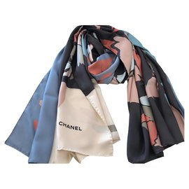 Chanel-Chanel stole-Multiple colors