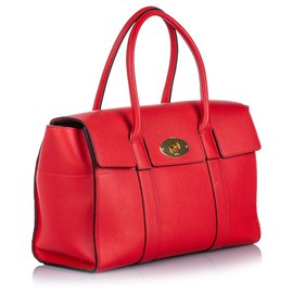 Mulberry-Mulberry Red New Bayswater Handbag-Red