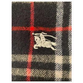 Burberry-Men Scarves-Navy blue