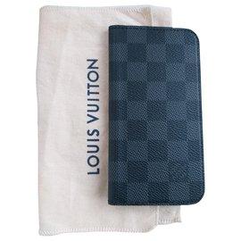 Louis Vuitton-Galaxy S6 Folio-Dark grey
