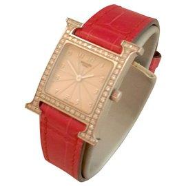 Hermès-Belles montres-Blanc cassé