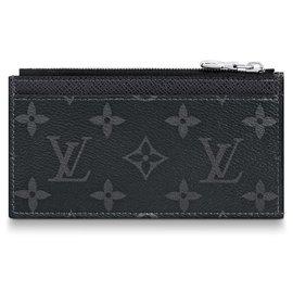 Louis Vuitton-Louis Vuitton coin card case-Black