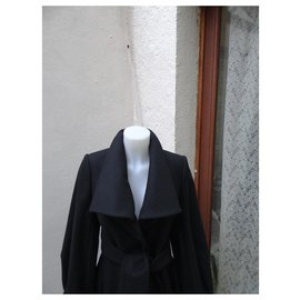 Stella Mc Cartney-Coats, Outerwear-Black