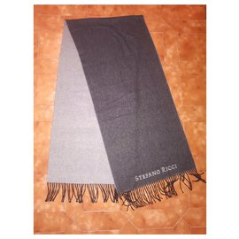 Autre Marque-Scarf in cashmere-Grey
